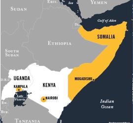 al-Shabaab Map